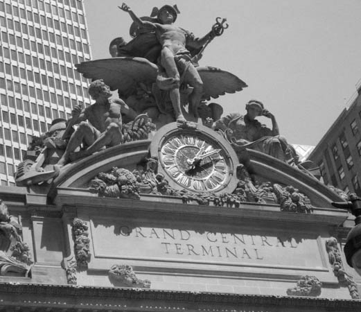 Front Facade of Grand Central Terminal, New York, USA