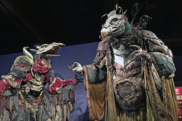 The Dark Crystal exhibit at the Museum of the Moving Image in Queens, New York, USA