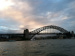 Sydney Harbor Bridge in New South Wales, Australia